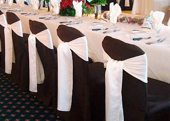 Накидки на стулья на свадьбу
