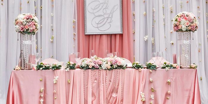 фото оформление столов на свадьбу
