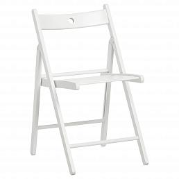 Складные стулья деревянные белые