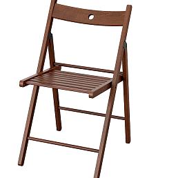 Складные стулья деревянные коричневые