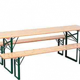 Лавка деревянная 220х25