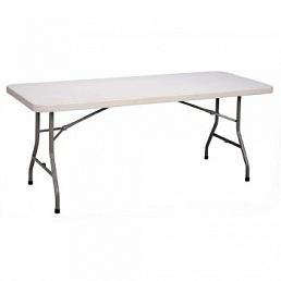 Стол прямоугольный 180х80 см пластик